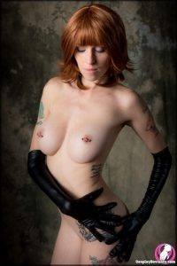 Lolita Zombie Nude Ghostbusters Lucy Cosplay